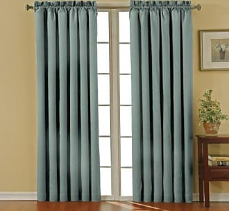 Eclipse 10299042X084RVB Canova 42-Inch by 84-Inch Thermaback Blackout Single Panel, River Blue