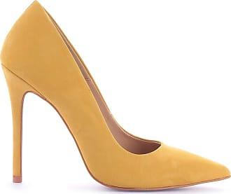 Paula Brazil Scarpin Grazi 930-80030/999-80562/930-80138 Couro Nobuck Amarelo Amarelo - 39