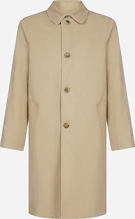 Marni Cotton-blend mono-breasted trench coat - MARNI - man