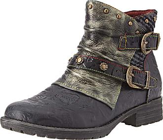 Laura Vita Womens Gacmayo 01 Ankle boots, (Noir), 5.5 UK (39 EU)