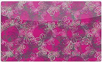 KESS InHouse PatternmuseJaipur Berry Purple Pink Artistic Aluminum Magnet, 2 by 3, Multicolor