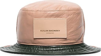 Ruslan Baginskiy Cappello bucket color-block - Di colore verde