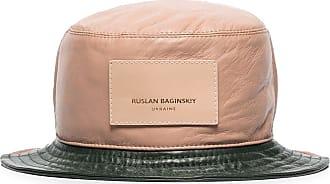 Ruslan Baginskiy Chapéu bucket color block - Verde