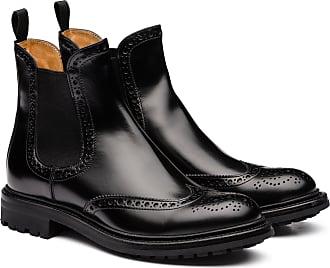 Churchs Rois Calf Chelsea Boot Brogue Woman Black Size 35,5