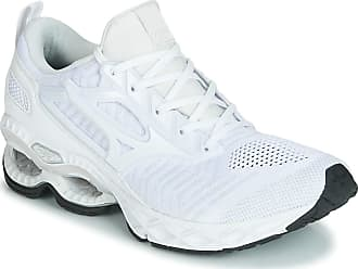 Mizuno Wave Creation Waveknit Running Shoes - AW19-43 White