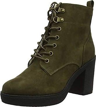 New Look Wide Foot Connie, Bottes Classiques Femme, Vert (Dark Khaki 34) e3f8266bf87a