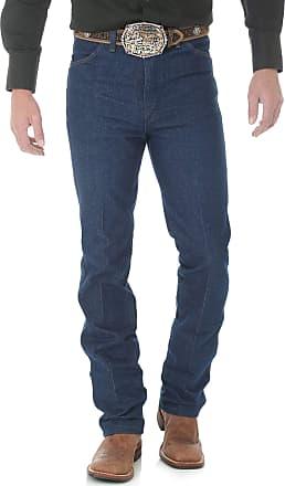 Wrangler Mens Cowboy Cut Slim Fit Jean, Indigo, 38W x 31L (US Size) (US Size)