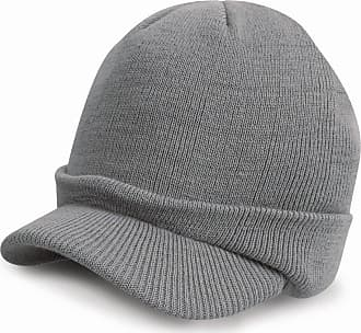 Result Winter Esco Army Knitted Hat Colour=Cool Grey Size=O/S