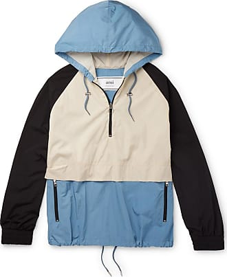 Ami Colour-block Shell Hooded Jacket - Multi