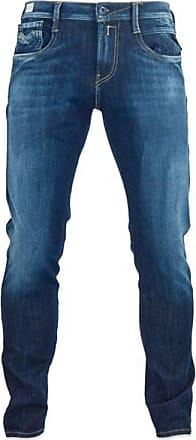 Replay Hyperflex Anbass Slim Jeans Blue Rinse - 30/30