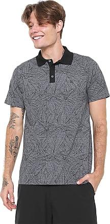 Hurley Camisa Polo Hurley Reta Only Grafite bc0c7f8f4b8b8