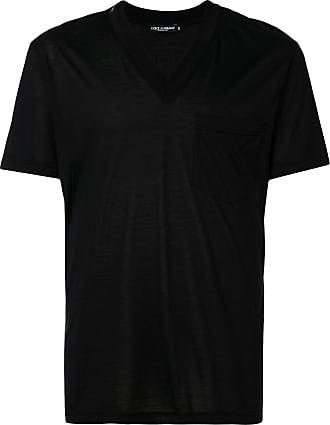 Dolce & Gabbana Camiseta decote em V - Preto