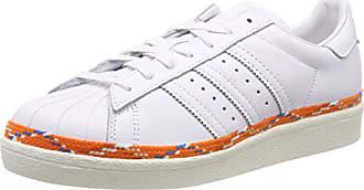 Chaussures Femme FTWR 80s Blanc Gymnastique 44 New W White Bold Superstar EU de adidas Off wgTXq