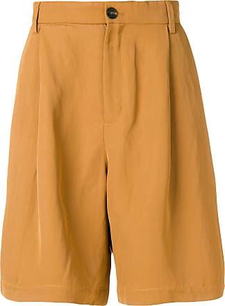 Qasimi knee length shorts - Brown