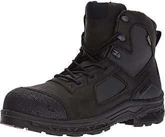 Irish Setter Work Mens Kasota 6 Waterproof Safety Toe Work Boot, Black, 10.5 2E US