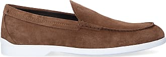 Tod's Loafers 00I70 suede Logo brown