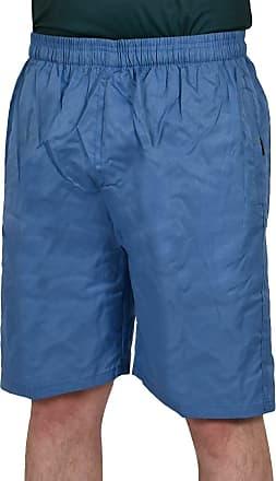 True Face Mens Sportstyle Shorts Knee Length Elasticated Waist Zip Pocket Casual Wear Pant Royal 2X-Large