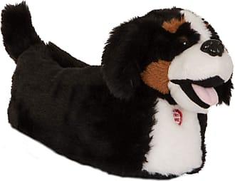 Lora Dora Womens Novelty 3D Barking Dog Slippers with Sound 3/4 UK