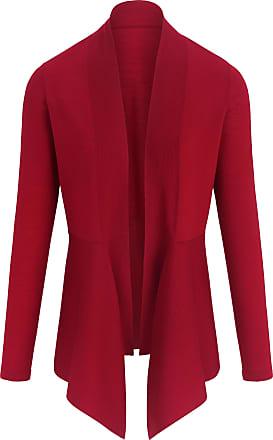 Peter Hahn Cardigan in 100% new milled wool Peter Hahn red