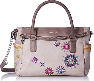 Desigual Embroidered BagAda Loverty (Beige)