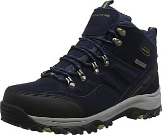Skechers Mens Relment-Pelmo High Rise Hiking Boots, Blue (Navy NVY), 12 UK 47.5 EU