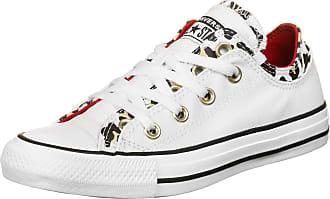 Converse CTAS Double Upper Ox Shoes White/Multi