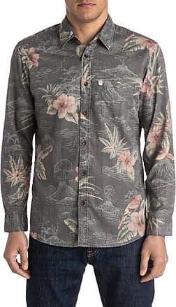 bc3f86d0426 Quiksilver Parrot Jungle - Chemise à manches longues pour homme - Noir -  Quiksilver