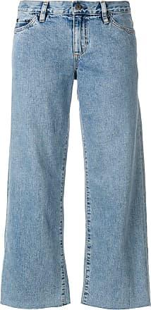 Simon Miller cropped wide-leg jeans - Blue