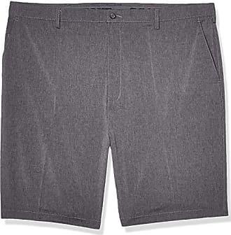 PGA TOUR Short court grand et haut imprimé pour homme, chevrons gris moyen chiné, 50