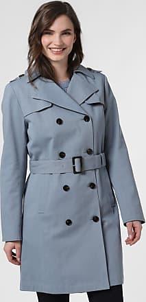 Marie Lund Damen Mantel blau
