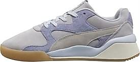 Puma trainers with a low-rise vamp and chunkier upper that was popularised in the 90s. The pastel colour way that offers a throwback to the 50s