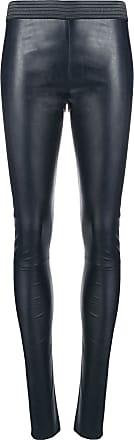 Blanca wet-look leggings - Blue