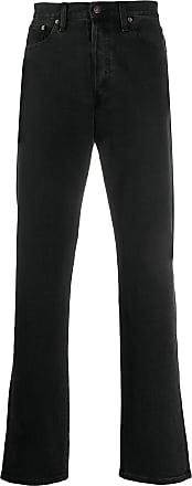 Jeanerica Calça jeans reta - Preto