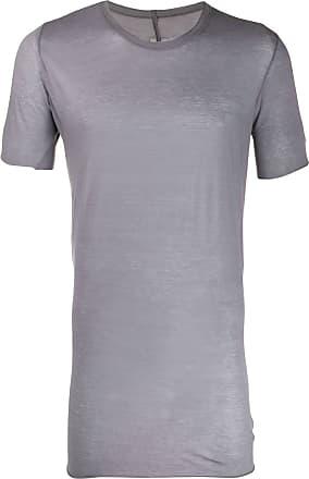 Rick Owens longline semi-sheer T-shirt - Azul