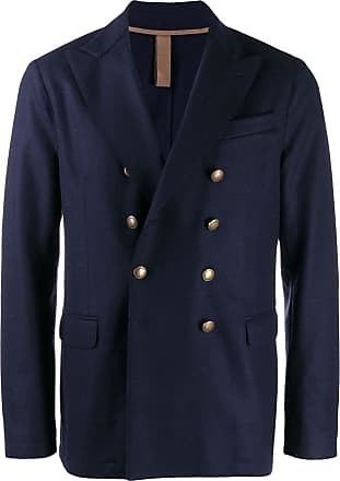 Eleventy double-breasted blazer - Azul