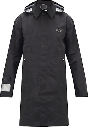 Undercover Hooded Photography-print Raincoat - Mens - Black