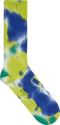 Suicoke Tie dye socks LIME M