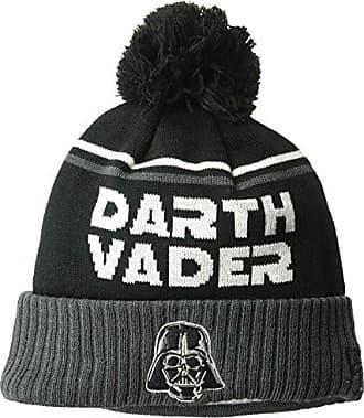 b909d1f985f New Era Cap Young Mens Darth Vader Jumbo Cheer Pom Knit Beanie Hat
