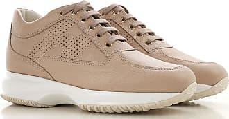 e1b4de34783 Hogan Sneakers for Women On Sale, Beige, Leather, 2017, 10 9