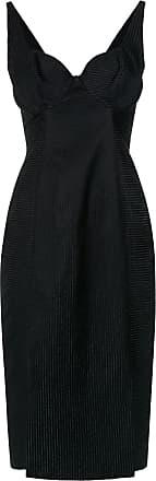 Tufi Duek Vestido curto com recortes - Preto