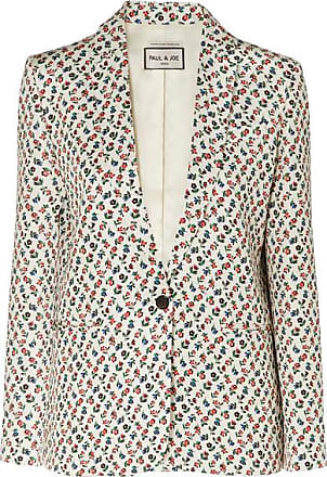 Paul & Joe Floral-print Jacquard Blazer - Off-white
