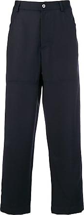 Qasimi straight-leg trousers - Blue
