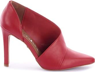 Di Valentini Scarpin Isabel 474-04488/4032-05412 Sola Bege Napa Vermelho (vegetalle/Fen. Scarlet-Forro vermelho) Vermelho - 33