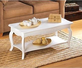 Zingz & Thingz Zingz and Thingz White Elegant Coffee Table in White