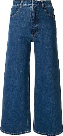 Ksenia Schnaider Calça pantalona azul