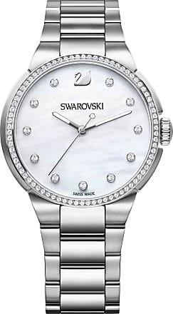 Swarovski Relógio City Pulseira, White