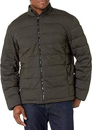 X-Large Navy 32 DEGREES Mens Diamond Quilt Down Packable Jacket