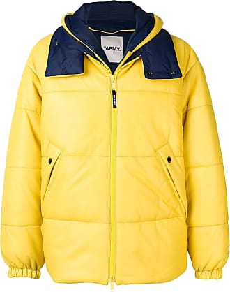 Yves Salomon - Army padded hooded jacket - Yellow