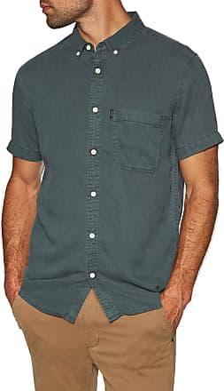 Rip Curl Ventura Short Sleeve Shirt X Large Dark Forest