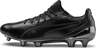 Puma King Platinum Mens Fg/Agfootball Boots, Black/White, size 6.5, Shoes